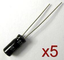 5x Condensateur électrolytique 100V 4,7uF - Aluminium Electrolytic Capacitor