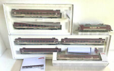 Märklin HO_36626+43946+43947+43948 Euro-Express Train set NIB