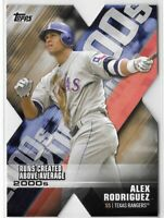 2020 Topps Series 1 Alex Rodriguez Decade Of Dominance Gold Parallel SP SSP /50