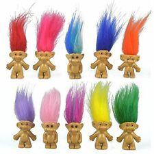 10PCS Mini Troll Dolls PVC Vintage Trolls Lucky Doll Mini Action Figures 1.2...