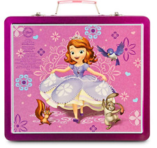 Disney Store Sofia the First Tin Art Kit purple