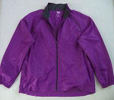 Girls EVERLAST fitness jacket sz XL running track gym sports team windbreaker
