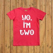 YO I'M TWO - BOYS SECOND BIRTHDAY SHIRT