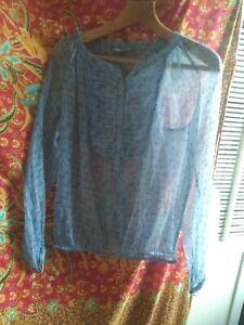 Noa noa blouse/top sz XS (20 inches across chest)