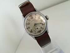Vintage WW2 Gents British Military Army Issue ATP / A.T.P. Moeris Watch Swiss