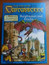Carcassonne Expansion 3 Princess & The Dragon  GERMAN