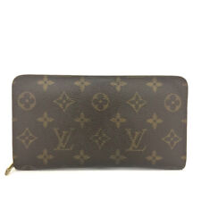 Louis Vuitton Monogram Porte Monnaie Zippy Long Wallet /90851