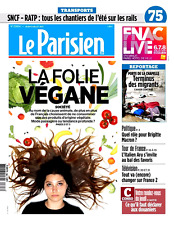 Le PARISIEN (75)n° 22654 du 6/7/2017**La folie Végane*Rôle Brigitte MACRON*POKER