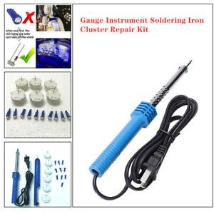 GMC GM gauge instrument cluster Repair Tool Stepper Motor 168 Tool Set + Bulb