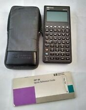 HP-48s Scientific Expandable Calculator with case & Hp48 Quick Reference Guide