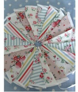 Cath Kidston  Fabric Bunting, Party Bunting, Cotton Fabric,Banner