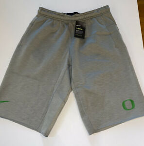 NEW Nike Oregon Ducks Velocity Therma-Fit Fleece Mens Shorts M $65