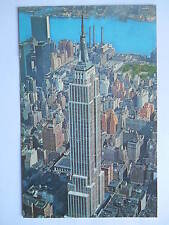 """CPSM """"Aerial view of Empire State Building - New York City"""""""
