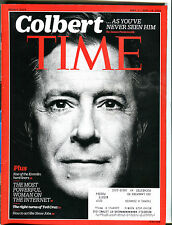 Time Magazine Sept. 7/Sept. 14, 2015 Stephen Colbert Steve Jobs EX 010516jhe2