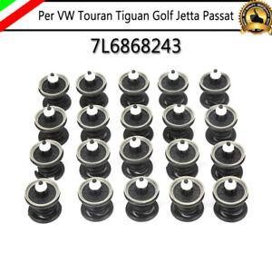 20x Pannello Porta Clip di Fissaggio Per VW Golf Passat Polo Bus T5 Caddy Taureg