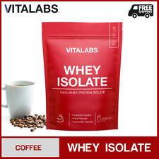 2KG WHEY PROTEIN ISOLATE POWDER WPI 100% PURE - Coffee