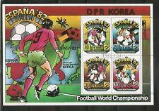 Korea SC # 2025a World Cup Spain 1982. Miniature Sheet  . MNH