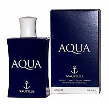 Aqua Nautilus Eau De Toilette 100 Ml Pour Homme Profumo Uomo Originale 303