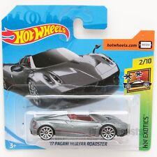 Pagani Huyara Roadster, 2018 Hot Wheels scale 1:64, model car toy gift