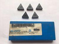 Valenite Ceramic Inserts TNG432T00630 Q32 Quantity 5