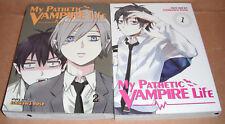 My Pathetic Vampire Life  Vol. 1,2 Manga Graphic Novels English