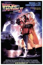 """BACK TO THE FUTURE 2 MOVIE POSTER 12"""" x 18"""""""