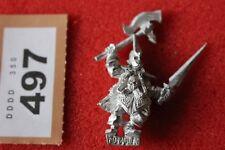 Juegos taller Warhammer marauder oscuro Elf Elfos Arca corsarios metal fuera de B2 Negro