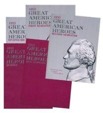 Landmark's Freedom Baptist History H115 Great American Heroes Gr 3