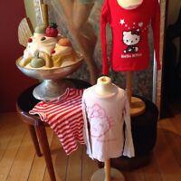 Hello Kitty 122-128 Mädchen  T Shirts Set Konvolut #50