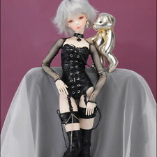 "Dollmore  1/3 BJD 22"" doll clothes  SD SIZE - Sexually ALL-IN-ONE Set II (Black)"
