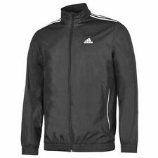 Adidas Closed Hem  Woven  Warm Up Jacket Football Extra Large XL Black