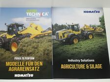 KOMATSU wheel loaders AGRICULTURE & SILAGE, agritechnica 2019 Prospekte ( 40 )