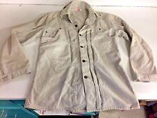 Vintage Levi Jacket Shirt White Label Jeans Pocket Cream Levi's Light Coat Beige