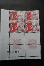 4 timbres FRANCE neuf préoblitérés 1,35 F de collection épis de blé