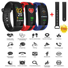 CARDIOFREQUENZIMETRO TRACKER OROLOGIO SMARTWATCH FITNESS SPORT ANDROID IOS QS01