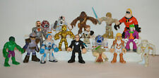 Marvel Super Hero Squad Lot Of Assorted Hasbro Mini Figures Star Wars Joker +