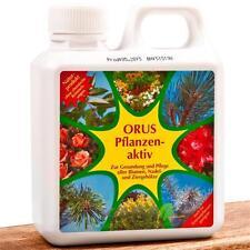 Oscorna ORUS Pflanzenaktiv 1 Liter für 150 L Gießwasser an Blumen Koniferen