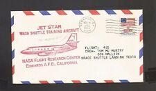 JET STAR NASA SHUTTLE TRAINING AIRCRAFT FLIGHT 415 NOV 18, 1976 EDWARDS, CA