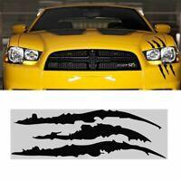 Car Headlight Scratch Stripe Decal Sticker Claw Stripe Truck Slash Vinyl BL C2O3