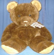 "Huge VTG Brown Bear Plush 28"" Teddy Stuffed Animal Toy JBP12  EXTRA LARGE SOFT!"