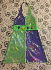 Curtain Call Costumes CLA Dance Mardi Gras TEEN Clown WOMENS GIRLS Large FS