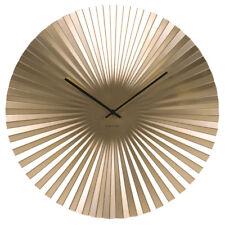 Karlsson Sensu Clock Large - Gold
