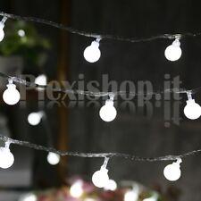 Catena di 50 lampadine luminose - BIANCO FREDDO