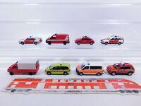 CP253-0, 5 #8x wiking H0 / 1:87 VW Fw / Bomberos: Beetle + Passat Etc. , Mint