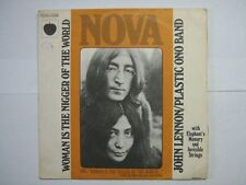JOHN LENNON 45 TOURS FRANCE WOMAN IS THE NIGGET OF THE
