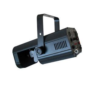 Visage VIS125.1 Hyperscan 1, 30 watt LED Scanner, 8 Gobos, 8 Colours, DMX