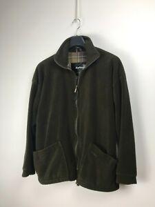 Barbour A895 Men's Green Fleece Liner Jacket L Large Casual