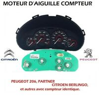 MOTEUR D'AIGUILLE COMPTEUR PEUGEOT 206, PARTNER, CITROEN BERLINGO PG1