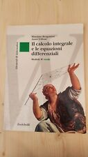 ELEMENTI DI MATEMATICA. [W] VERDE. CALCOLO INTEGRALE ED EQUAZIONI DIFFERENZIALI