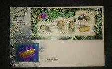 1997 Malaysia Royal Selangor Pewter limited Niobium Stamp FDC Protected Wildlife